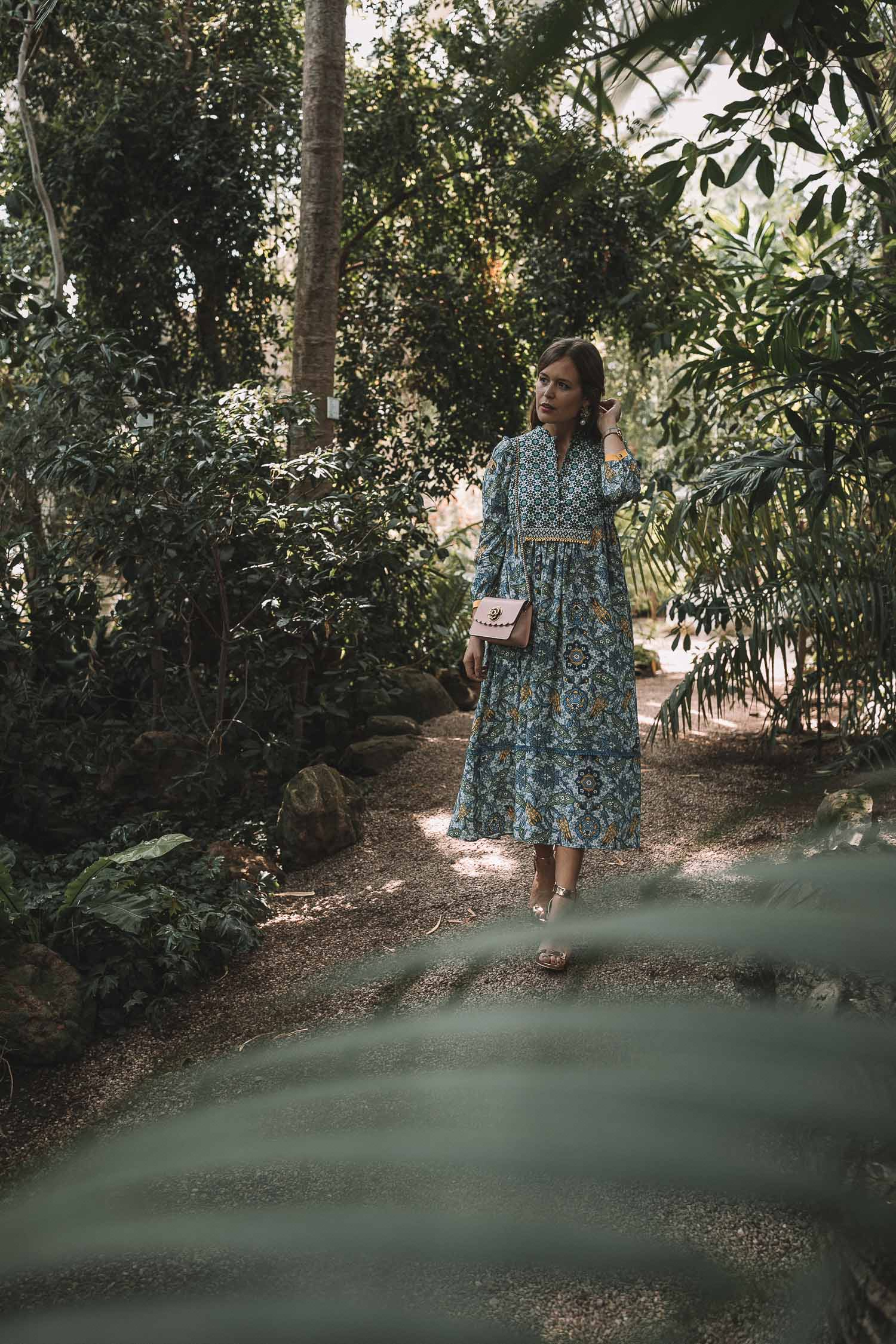 4492a9a52b3fe1 Outfit Hochzeitsgast Max Mara Kleid-8 - Josie Loves