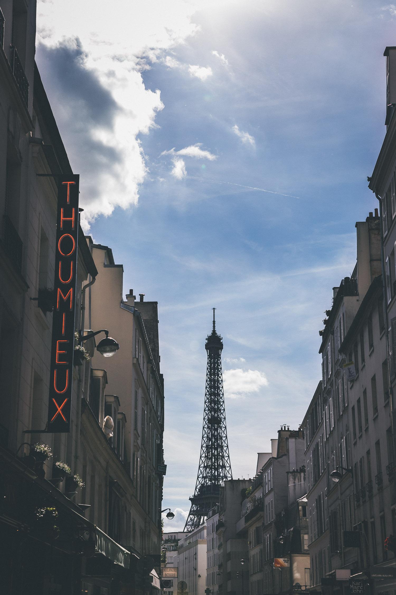 Paris Reise Tipp: Der beste Blick auf den Eiffelturm