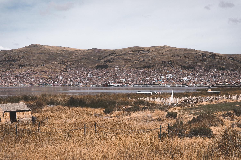 Blick auf Puno, Peru