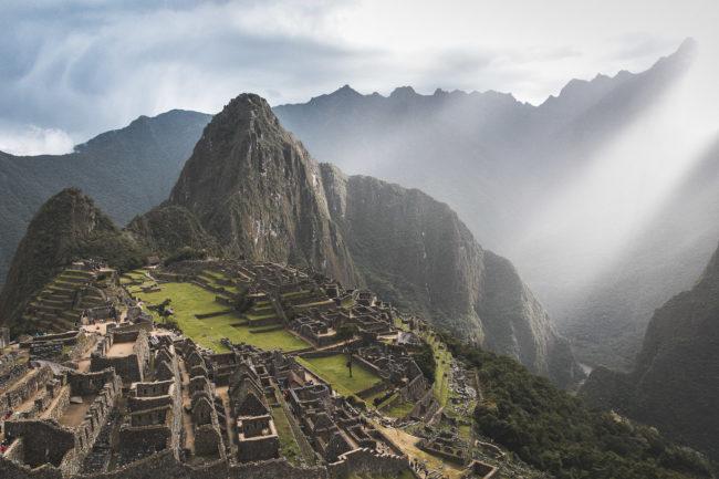 Machu Picchu Sonnenaufgang