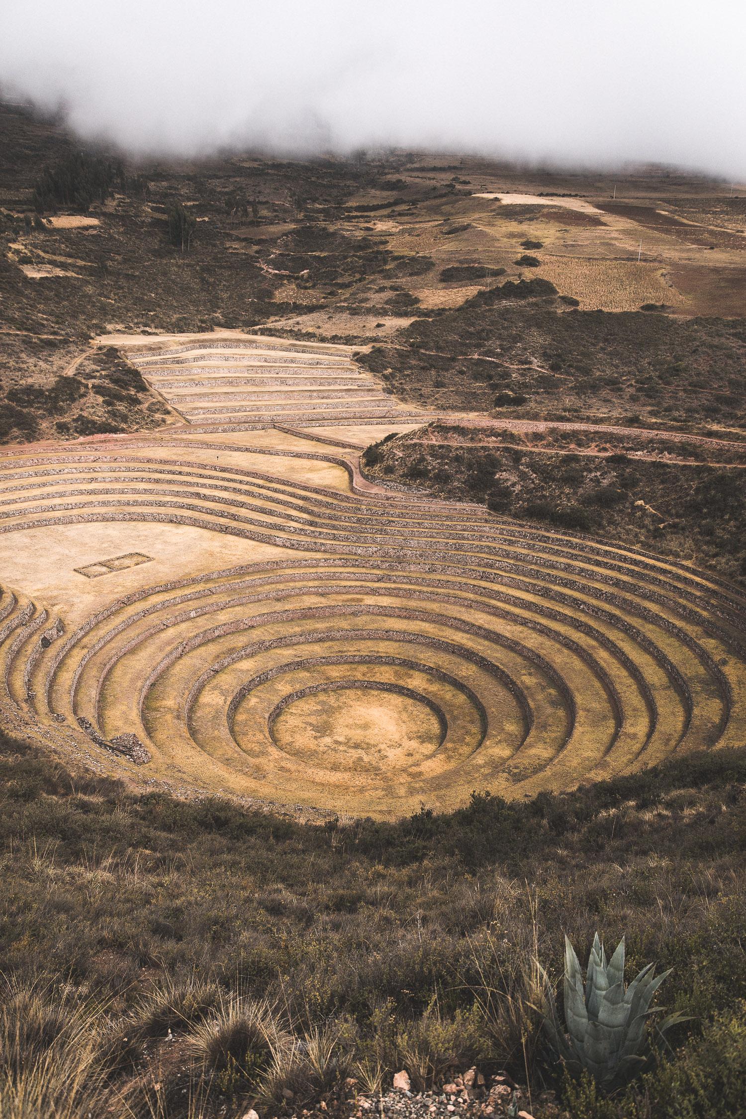 Zeremonieterrassen von Moray, Peru