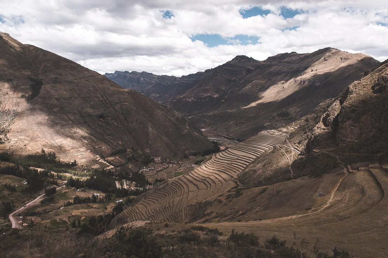 Inka-Terrassen bei Pisac, Peru