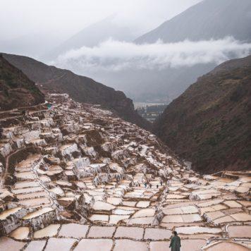 Salzterrassen in Peru