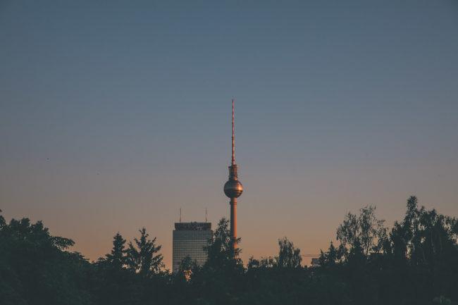 Fernsehturm Blick Prenzlauer Berg