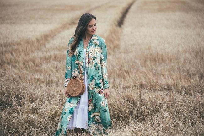 Wie kombiniere ich einen Kimono?