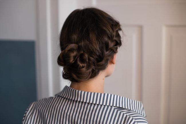 Hair Tutorial Flecht Dutt Für Die Wiesn Josie Loves