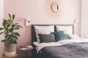 Schlafzimmer Wand Rosa Josie Loves