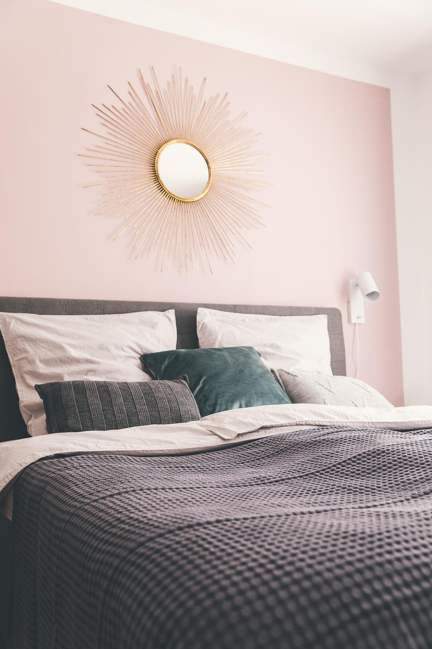 Schlafzimmer Wand Rosa-4 - Josie Loves