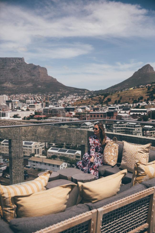 die schönste Dachterrasse in Kapstadt