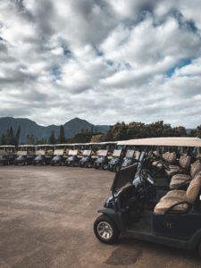 Golf spielen in Princeville
